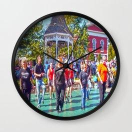 Home Town Fun Wall Clock