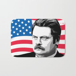 RON SWANSON Quote#5 Bath Mat