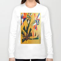oakland Long Sleeve T-shirts featuring Oakland Wall Flower by Oakland.Style