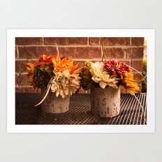 Autumn Arrangement Art Print