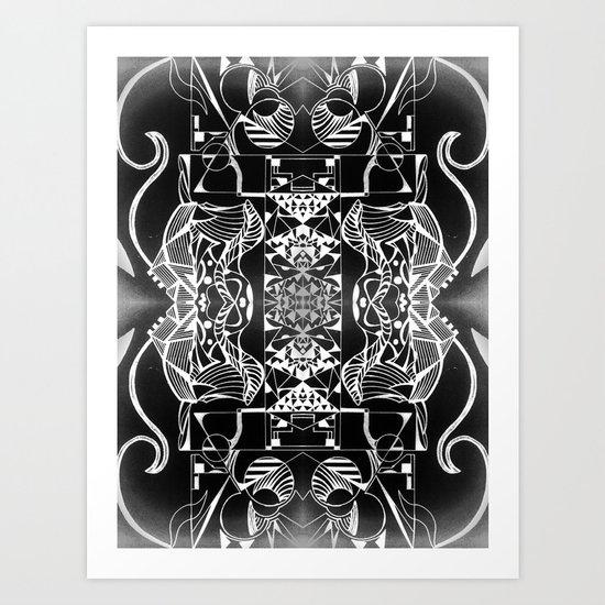 Geometropolis Art Print