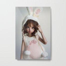 Cute bunny Metal Print