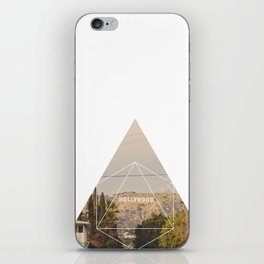 Hollywood Sign - Geometric Photography iPhone Skin