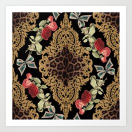 Lace Baroque Art Print