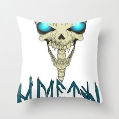 Death To The Living! Throw Pillow