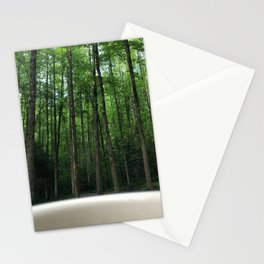 Breakfast View, Smoky Mountain Tennessee Stationery Cards