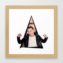Youtriangle ∆ Tiësto Framed Art Print