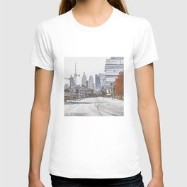 CN Tower and Toronto cityscape from downtown T-shirt
