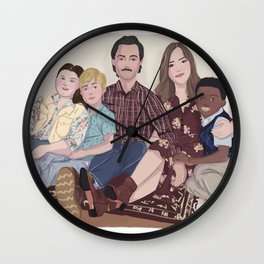THIS IS US Wall Clock