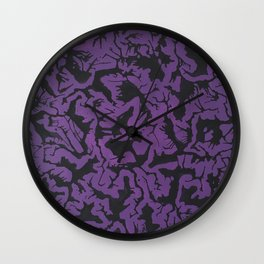 16 x 20 purp Wall Clock