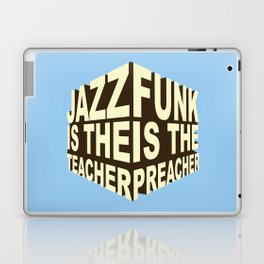 Jazz Funk Cube Laptop & iPad Skin