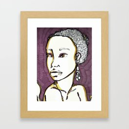 Complements Dos Framed Art Print