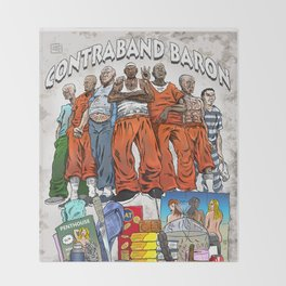 Contraband Baron Throw Blanket