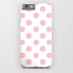 Polka Dots (Pink/White) Slim Case iPhone 6s