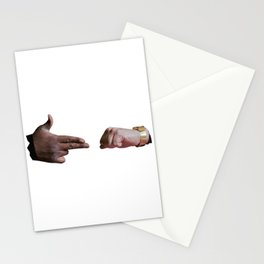 Run The Jewels low poly logo Stationery Cards