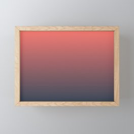 Dusk Framed Mini Art Print