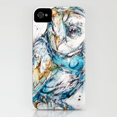 The Sea Glass Owl Slim Case iPhone (4, 4s)