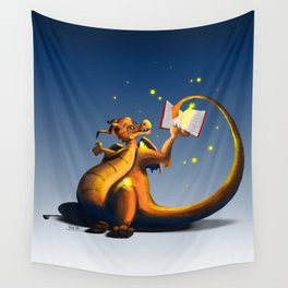 Dragon's Story Time Wall Tapestry