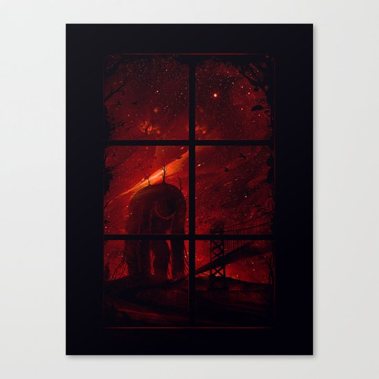 The Otherside Canvas Print