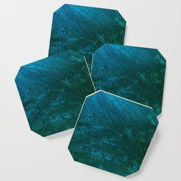 Ferns pattern Coaster