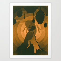 Into The Hive Art Print