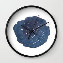 capricorn constellation zodiac Wall Clock
