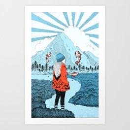 Wonderlanded Art Print