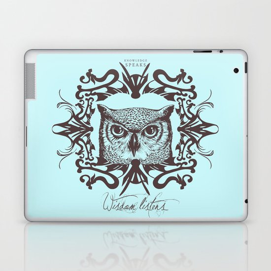 Wisdom Listens Laptop & iPad Skin