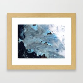Our only state is flux Framed Art Print