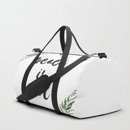 peace is cool Duffle Bag
