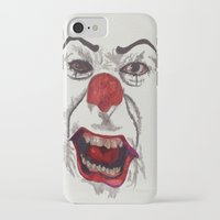 pennywise iPhone & iPod Cases featuring IT. by AlienHobo51