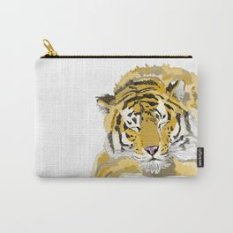 Sleepy Tiger Carry-All Pouch