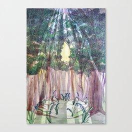 236 (Some Keep The Sabbath) With Virginia Bluebells Canvas Print