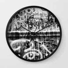 The Writing on the Wall Wall Clock