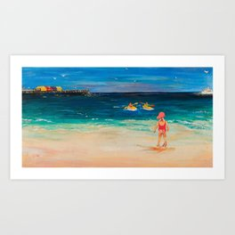 My Day out Art Print