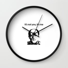 Dating Routine Wall Clock