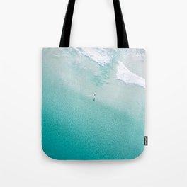 Leighton Beach Aerial Tote Bag
