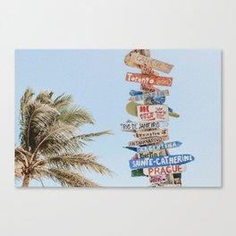 summer wanderlust Canvas Print