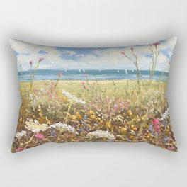 Queen of the Bay Rectangular Pillow