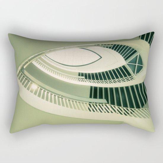 teardrop stairs Rectangular Pillow