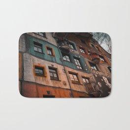 Hundertwasser museum Bath Mat