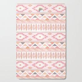 Pink Boho Tribal Aztec Cutting Board
