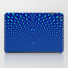 Fract Peacock iPad Case
