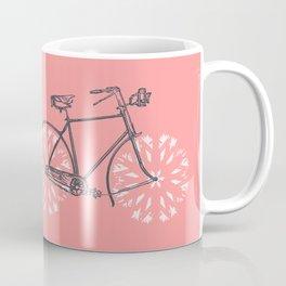 Snowflake Bicycle Coffee Mug