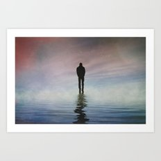 Walk On... Art Print