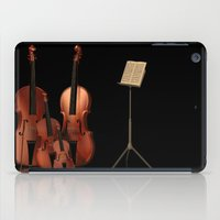 the mortal instruments iPad Cases featuring String Instruments by Simone Gatterwe