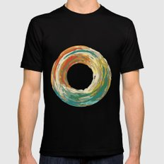crazy donut Black Mens Fitted Tee SMALL