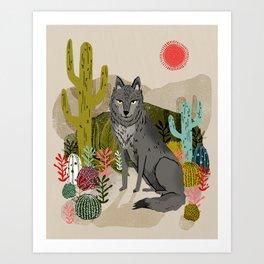 Wolf by Andrea Lauren  Art Print