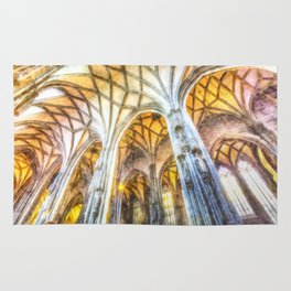 St Stephens Cathedral Vienna Art Rug