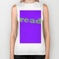 read Biker Tanks featuring Read by Seek